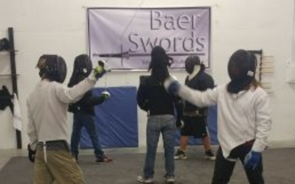 Sword Fighting classes for ages 8 and up in Two Handed, One